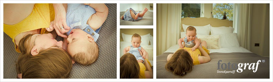 Styling a baby photography shoot