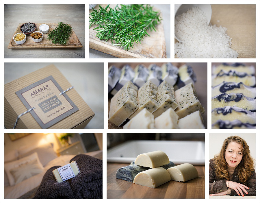 Natural handmade soaps in Leicestershire