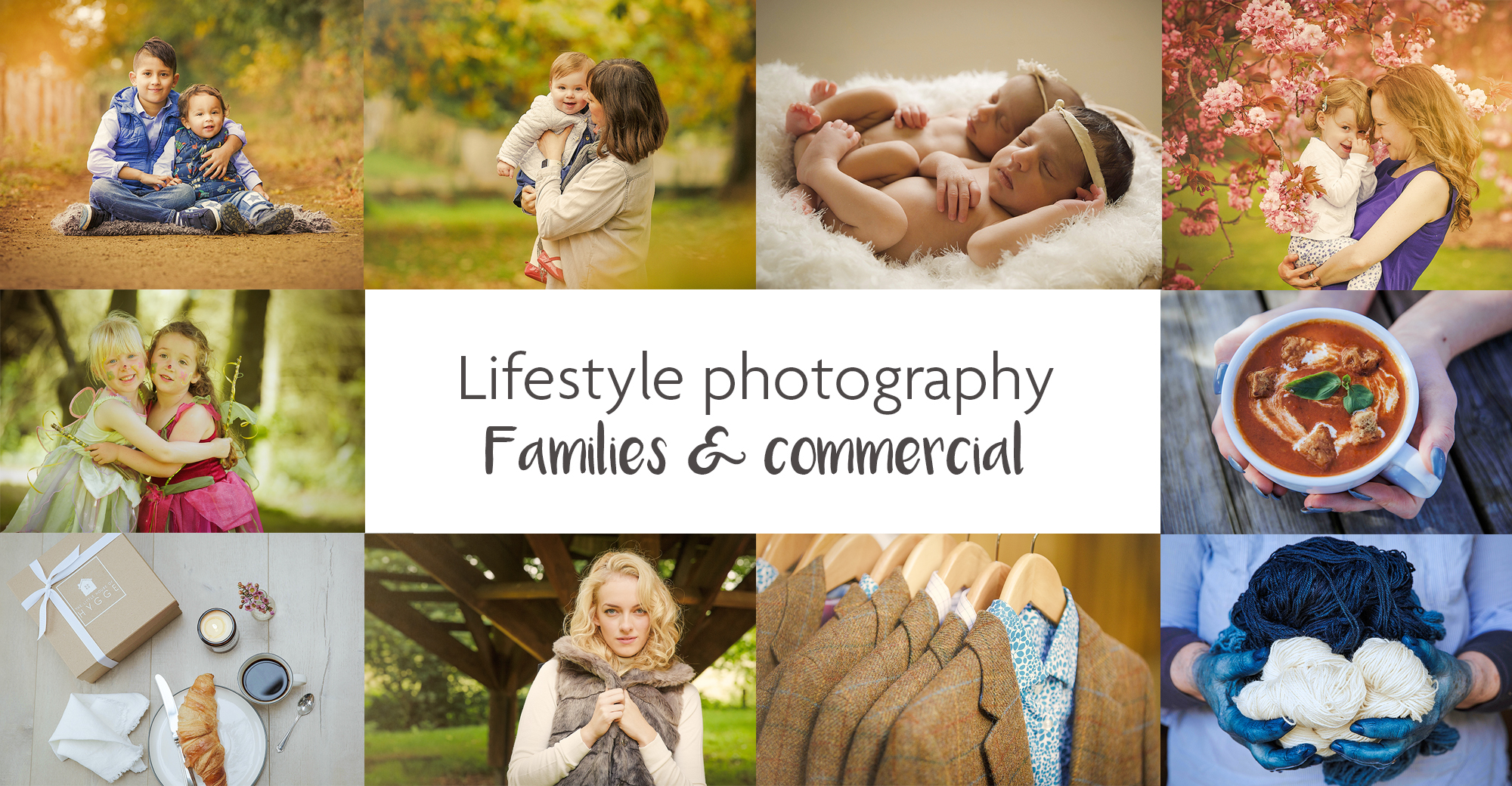 Lifestyle photography for business and family