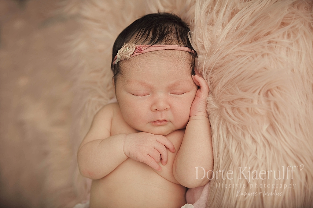 styled newborn photographer