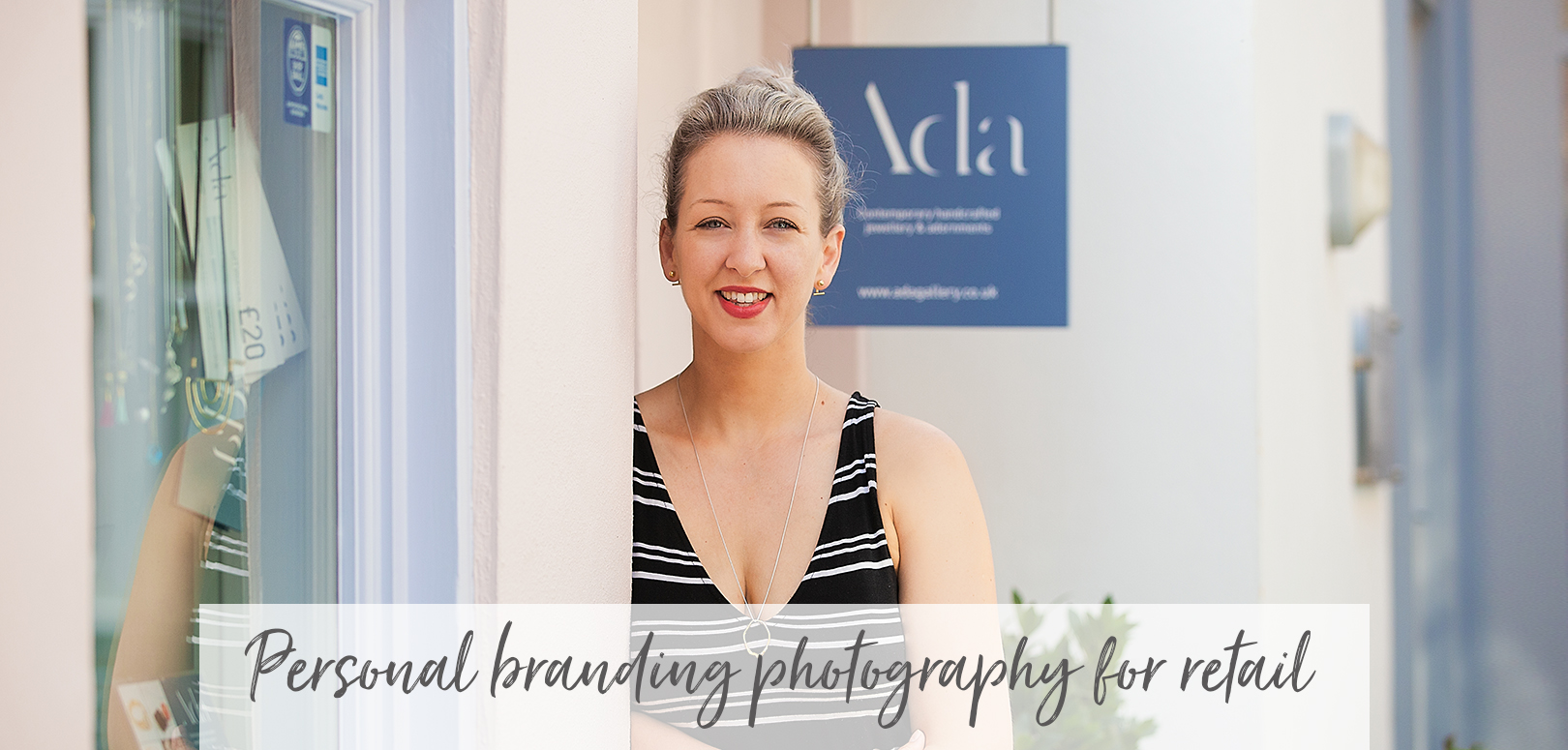 Personal branding photography for retail