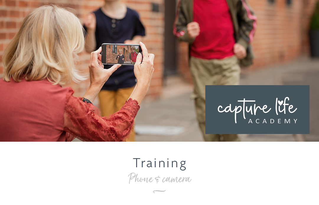 Photography and video training using your phone