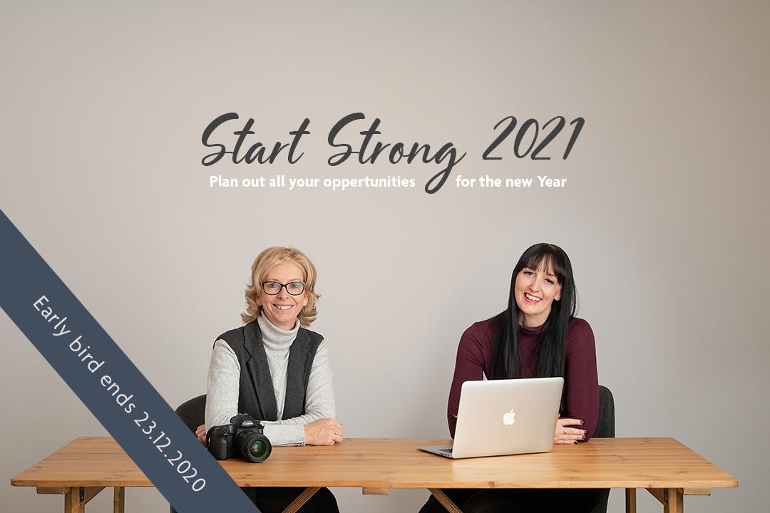 Start Strong 2021 event