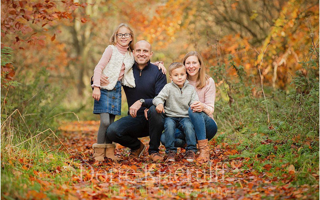 Autumn family photographer Market Harborough
