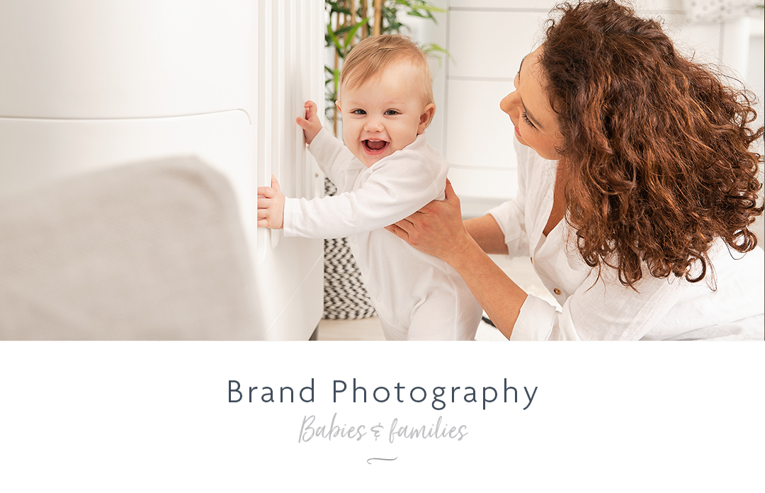 Brand photography for baby and family