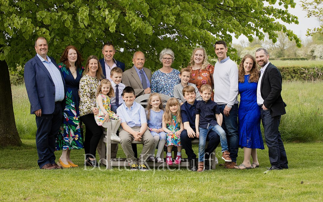 Extended family photography – celebrations